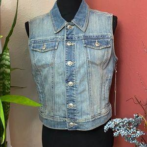 NWT - LC Lauren Contrad Demin Vest